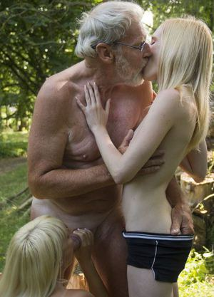 Petite Teen And Oldman Porn